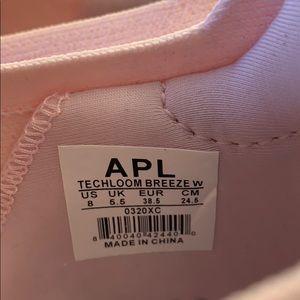 APL Shoes - NWIT tags APL pink linen tech loom breeze